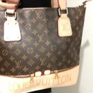 Monogram Designer LV Tote Purse Satchel Bag, Cross Body Bag, Neverfull style