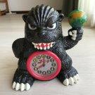 Godzilla Alarm Clock Toho HTF 1997 The theme song flows and eyes shine very rar
