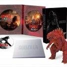 GODZILLA 2014 Blu-ray S.H. Monster Arts GODZILLA Poster Image Ver TOHO Japan NEW