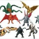 50th Anniversary Bandai Godzilla Ultimate Chart 16 figure Super Picture Book NEW