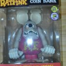 RAT FINK Piggy Coin Bank GLOW IN THE DARK funko Doll Figure 480 Limited 12inch