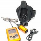 Panasonic Wearable Camera HX-A500 Orange 4K Hands Free Waterproof USED JAPAN