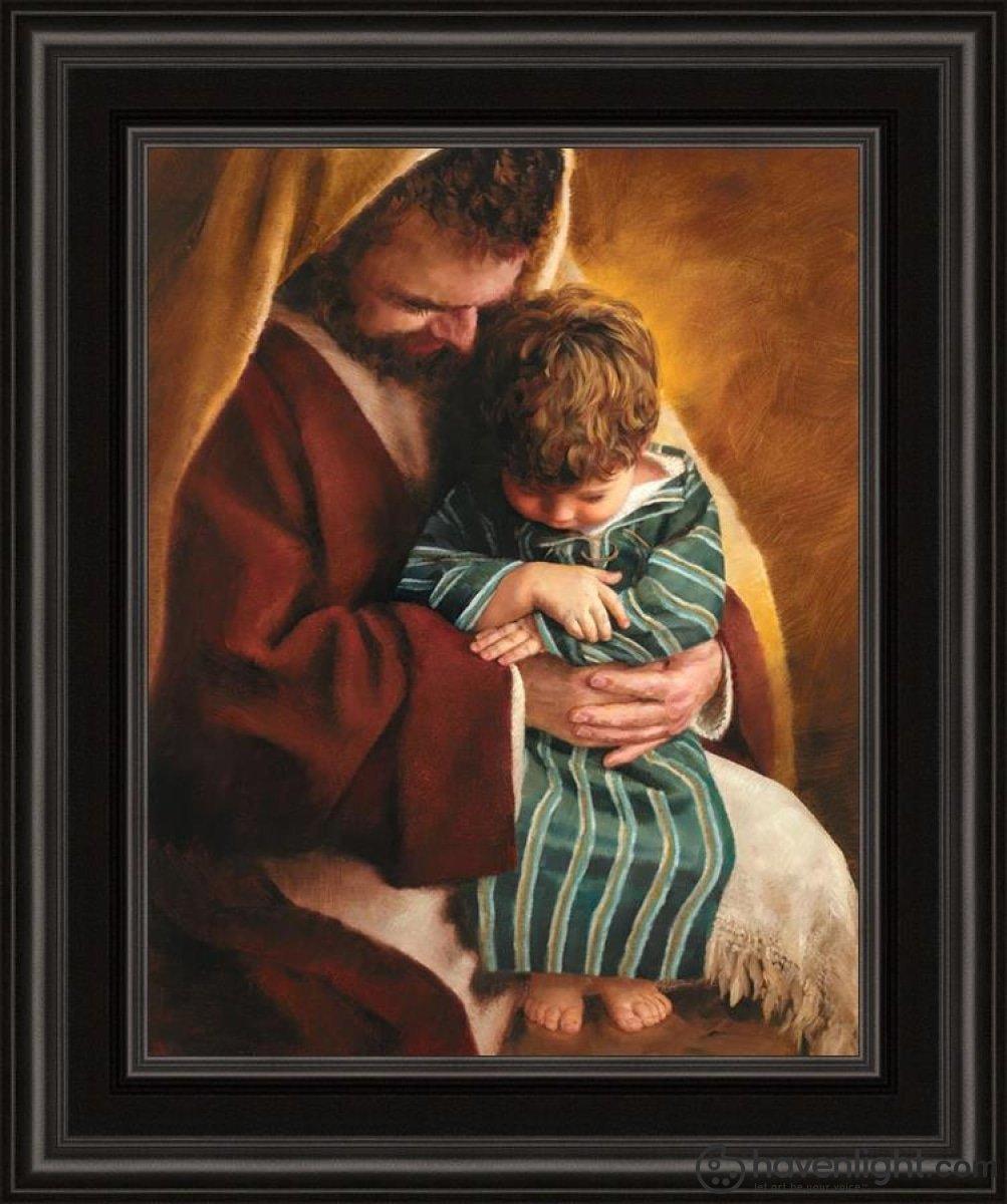 Grace of God by Jay Bryant Ward - 15.25x18.25 (Image 11x14) Framed Print