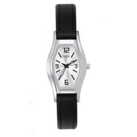 43T02  Bulova Ladies Caravelle Quartz Tonneau Strap Watch