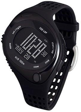 Nike Triax Speed 100 Regular Watch - Black/Black/Black - WR0084-004