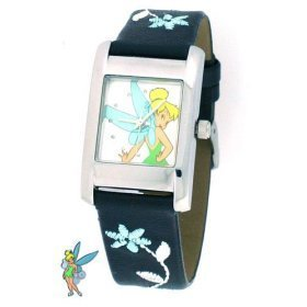 Disney Ladies Leather Banded / Casual Watches Tinkerbell Watch MU1254