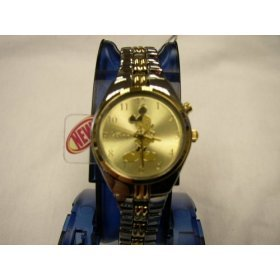 Mickey Mouse Ladies Musical Disney Watch, Collectible, MU2416