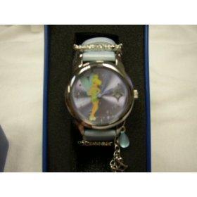"Disney ""Tinkerbell"" Light Blue Strap Watch, MU2392, SPECIAL, Seiko Brand"