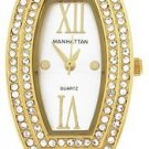 Manahattan by Croton Ladies Crystal Elegance Watch CM204151YLSL