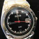 Manahattan by Croton Mens Black Dial / Bracelet Watch CM304144SLBK