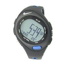 NIKE WR0129-020 Triax Speed 50 Digital Watch ( Black & Blue Saphire )
