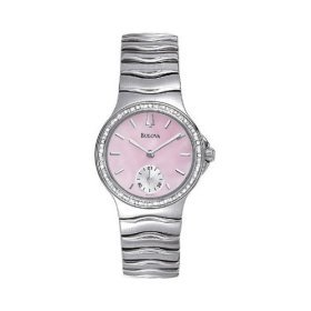 Bulova 96R57 Diamond Series Mother of Pearl Dial