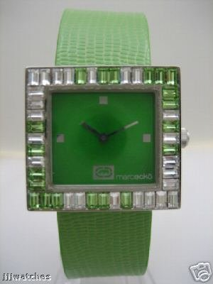 Marc Ecko Ice Cube Emerald Crystal Watch Lady E85015L1