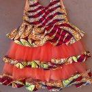 African wax print kids dress