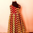 African girl child wax print dress