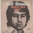 "NEIL DIAMOND Cracklin' Rosie MALAYSIA ASIAN 7"" PS"