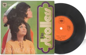 """STROLLERS New Woman 60s ASIAN PSYCH BAND 7"""" PS"""