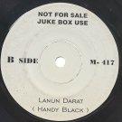"HANDY BLACK Lanun Darat MALAY 80S ROCK METAL BAND 7"""