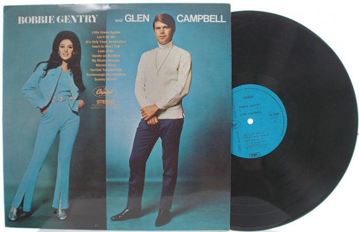 BOBBY GENTRY & GLEN CAMPBELL Malaysia ASIA LP