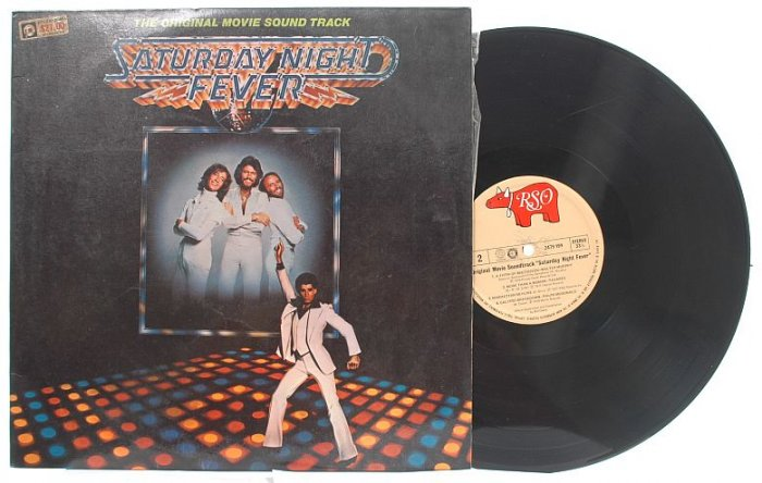 SATURDAY NIGHT FEVER OST Bee Gees MALAYSIA Asia 2LP
