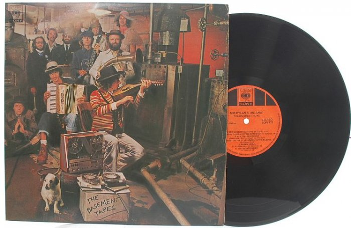 BOB DYLAN Basement Tapes MALAYSIA Asia Gatefold 2 LP