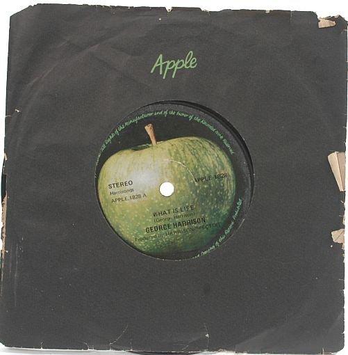 "BEATLES George Harrison APPLE SCRUFFS International 7"""