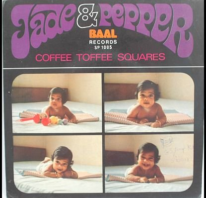 """JADE & PEPPER Coffee Toffee ASIAN 60s BAND Baal 7"""" PS"""
