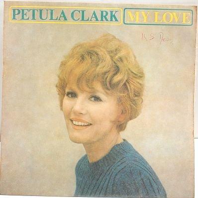 "PETULA CLARK My Love 7"" PS 4- Track EP UK 1966"