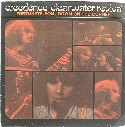 "CREEDENCE CLEARWATER Fortunate Son CCR SINGAPORE 7"" PS"