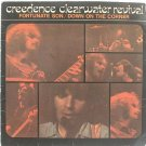 """CREEDENCE CLEARWATER Fortunate Son CCR SINGAPORE 7"""" PS"""