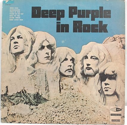 DEEP PURPLE Ritchie Blackmore MALAYSIA Asia LP