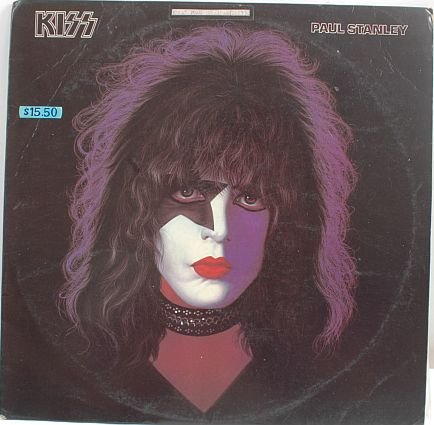 KISS Paul Stanley1978 HONG KONG LP Cover #1