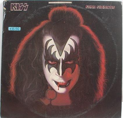 KISS Gene Simmons 1978 HONG KONG LP Cover #2