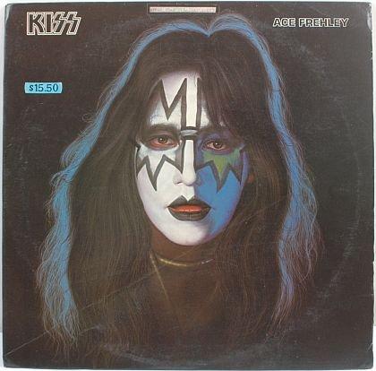 KISS Ace Frehley 1978 HONG KONG LP Cover #3