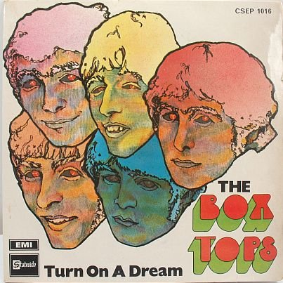 "BOX TOPS Turn On A Dream MALAYSIA 7"" PS EP EMI"