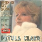 """PETULA CLARK This Is My Song 1967 7"""" EP P/S FRENCH"""