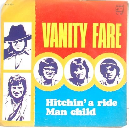 """VANITY FARE Hitchin' A Ride ASIAN 7"""" PHILLIPS"""