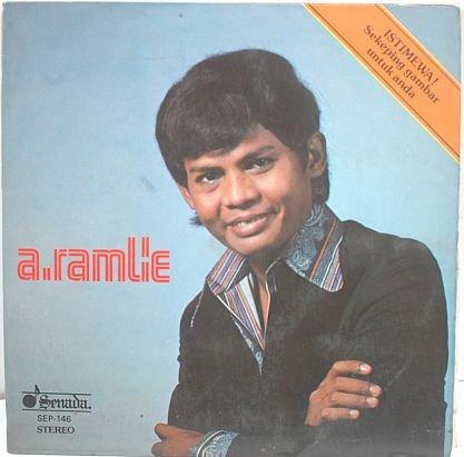 """A RAMLIE Pujangga 60s MALAY POP SINGER 7"""" PS EP"""