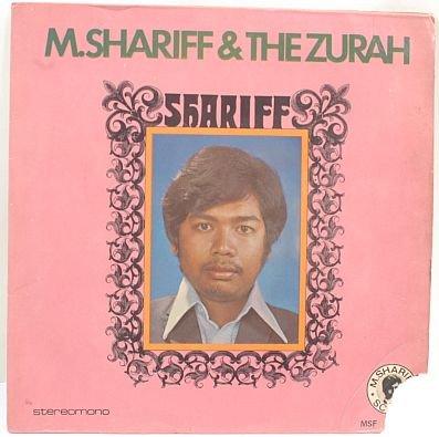 "M SHARIFF & THE ZURAH 60s MALAY POP 7"" PS EP"