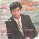 "THE ZURAH feat. M Shariff 60s MALAY POP 7"" PS EP"