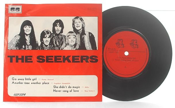 "THE SEEKERS Engelbert Humperdinck MALAYSIA 7"" PS"