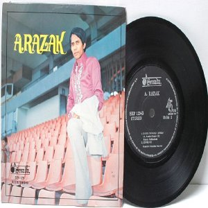 "Malay 70s Pop A RAZAK 7"" PS EP"