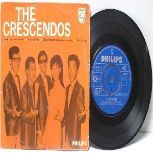 "ASIAN 60's POP BEAT BAND the Crecendos 7"" PS EP"