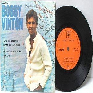 "BOBBY VINTON  4-Track  7"" 45 RPM EP CBS"