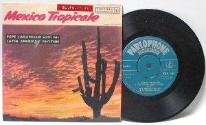"""PEPE JAMARILLO mexico Tropicale INDIA  7"""" 45 RPM PS EP"""