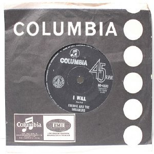 """FREDDIE AND THE DREAMERS I Understand  OZ AUSTRALIA Columbia 7"""" 45 RPM PS"""