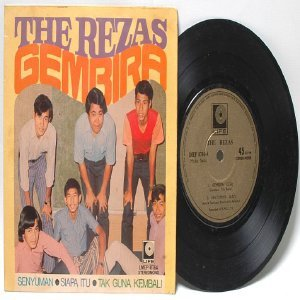 Malay 70s Pop Band  THE REZAS Gembira  PS EP