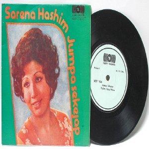 "Malay 70s Pop  Diva SERENA HASHIM Jumpa Sekejap 7"" PS EP"