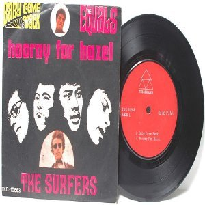 "Asian 60s Band THE SURFERS vs THE EQUALS  ASIA 7"" 45 RPM PS EP"