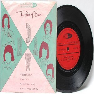 """DAWN the Best Of SUMMER SAND  ASIA 7"""" 45 RPM PS EP SAS"""